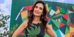 Fátima Bernardes perde a voz e é substituída por Patrícia Poeta